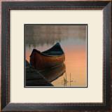 Canoe Poster by Rick Schimidt