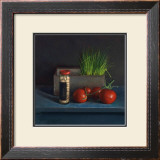 Still Life with Tomato Prints by  Van Riswick