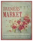 Market Flowers Prints by Mandy Lynne