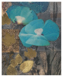 Poppy Cerulean Art by Matina Theodosiou