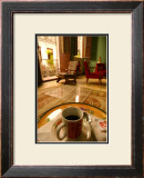 Coffee in the Afternoon Framed Giclee Print by Charles Glover