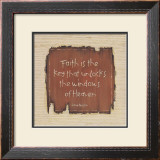 Faith is the Key Prints by Karen Tribett