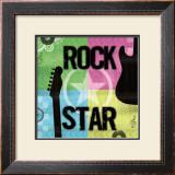 Rock Star Art by Louise Carey
