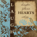 Laugh Affiches par Jennifer Pugh