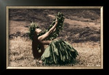 Offering to Pele, Hula Girl Prints by Alan Houghton
