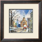 Eglise Bonssecours Prints by Jean-roch Labrie