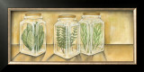 Spice Jars I Prints by Laura Nathan