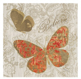 Believe in Butterflies Prints by Morgan Yamada