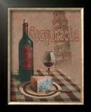 Gorganzola, Pisa Posters by T. C. Chiu
