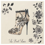 Le Boot Lace Print by Marco Fabiano