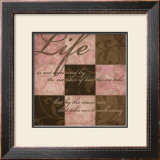 Life in Pink Poster by N. Harbick