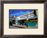 Liquor Beer Wine, Venice Beach, California Framed Giclee Print by Steve Ash