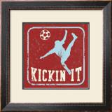 Kickin It Poster by Peter Horjus