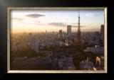 Tokyo Tower: Evening of Spring Poster by Takashi Kirita