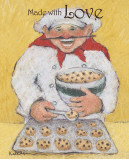 Cookie Maker Prints by Carole Katchen