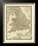 Angleterre, Galles, c.1827 Framed Giclee Print by Adrien Hubert Brue