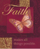 Faith Tapestry Affiche par Laurel Lehman