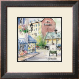 Place Jacques-Cartier Print by Jean-roch Labrie