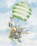 Up and Away Stripes Prints by Catherine Richards