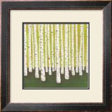 Birch Forest Prints by Lisa Congdon