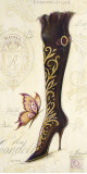 Embellished Boot Poster by Angela Staehling