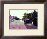 Narrow Bridge, Venice Beach, California Framed Giclee Print by Steve Ash