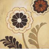 Textile Flower Spice I Kunstdruck von Hope Smith