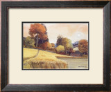 PATH THROUGH THE RIPE CORN Limited Edition Framed Print by JOSEPH MAXWELL