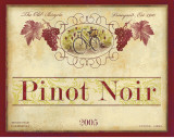 Californian Pinot Noir Print by Devon Ross