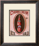 Cherry Cream Prints by Gregory Gorham