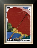 Graubunden, Schweiz Framed Giclee Print by Augusto Giacometti