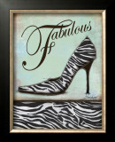 Zebra Shoe Prints by Todd Williams