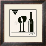 Wine Prints by Ute Nuhn