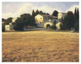 Golden Fields of Dreams Poster by James Wiens