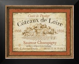 French Wine Labels II Posters by Daphne Brissonnet