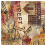 New York Intersection Prints by Sara Abbott
