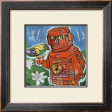 Robot II Prints by Isabelle Cochereau