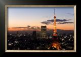 Tokyo Tower: Evening II Prints by Takashi Kirita