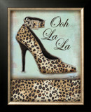 Leopard Shoe Art by Todd Williams