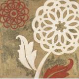 Textile Flower Spice II Kunstdrucke von Hope Smith