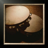 Tambourine Print by Steve Cole