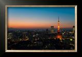 Tokyo Tower: Evening I Prints by Takashi Kirita