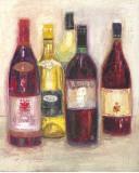 Chardonnay Sketch Prints by Maret Hensick