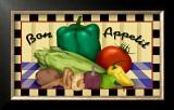 Bon Appetit Framed Giclee Print