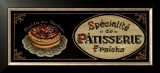 Patisserie Posters by Gregory Gorham