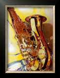 Saxophone Art by A.. Cromwell