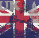 UK London Prints by Evangeline Taylor