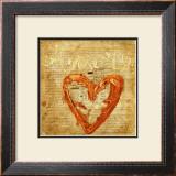 Coeur Amore Prints by Roberta Ricchini