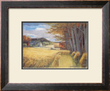 AUTUMN HARVEST Limited Edition Framed Print by JOSEPH MAXWELL