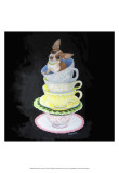 Chihuahua Teacups Posters by Carol Dillon